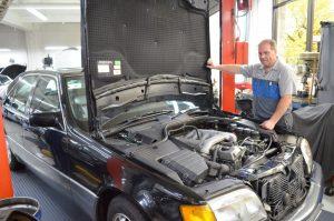 classic mercedes mechanic near me