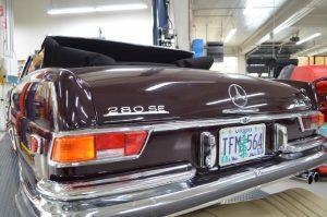 Classic mercedes mechanic
